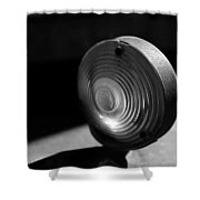 Right Turn Signal Shower Curtain