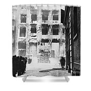 Riis: Lower East Side Shower Curtain