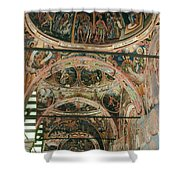 Rila Monaster Shower Curtain