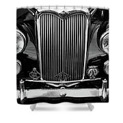 Riley Saloon Car - Vintage Shower Curtain