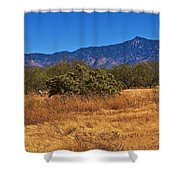 Rincon Peak, Tucson, Arizona Shower Curtain