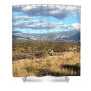 Rincon Valley Winter Shower Curtain