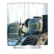 Ring That Bell Engine 26 Steamtown National Historical Site Shower Curtain