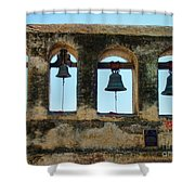 Ringing Bells Shower Curtain