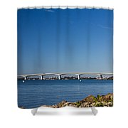 Ringling Bridge, Sarasota, Fl Shower Curtain