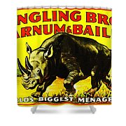 Ringling Brothers Barnum And Bailey Circus Shower Curtain