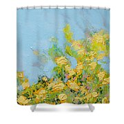 Ringling Garden Shower Curtain