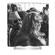 Ringo Starr In Nepal Shower Curtain