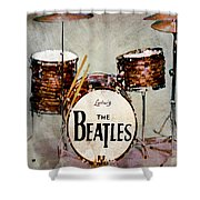 Ringo's Drums Shower Curtain