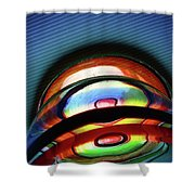 Rings # 5 Shower Curtain