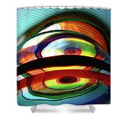Rings # 9 Shower Curtain