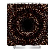 Rings Of Fire Shower Curtain