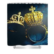 Rings Of Nobility Shower Curtain