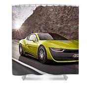 Rinspeed Etos Concept Self Driving Car Shower Curtain