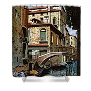 Rio Degli Squeri Shower Curtain