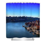 Rio Douro Shower Curtain