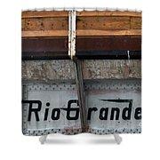 Rio Grande Bridge Shower Curtain