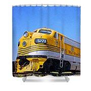 Rio Grande F9s Shower Curtain