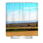 Rio Grande Flood Plain Shower Curtain
