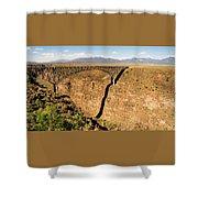 Rio Grande Gorge Bridge Taos New Mexico Shower Curtain