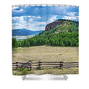 Rio Grande Headwaters #2 Shower Curtain