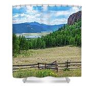 Rio Grande Headwaters Shower Curtain