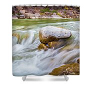 Rio Grande Rocky Flow Shower Curtain