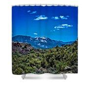 Rio Hondo Arroyo View Shower Curtain