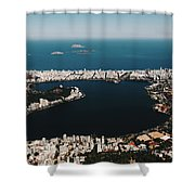 Rio In Contrast Shower Curtain