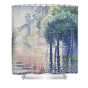 Rio San Trovaso, Venice Shower Curtain