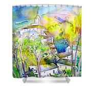 Rioja Spain 04 Shower Curtain by Miki De Goodaboom