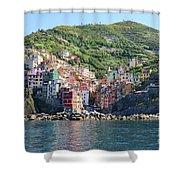 Riomaggiore 0583 B Shower Curtain