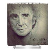R.i.p. Gene Wilder Shower Curtain