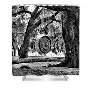 Rip Van Winkle Gardens Louisiana Bw Shower Curtain