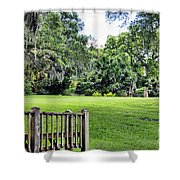Rip Van Winkle Gardens Louisiana  Shower Curtain