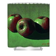 Ripe Apples Shower Curtain