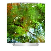 Ripple Effects Shower Curtain