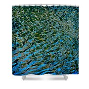 Ripple Reflections Shower Curtain