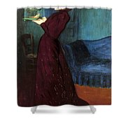 Ripple-ronai: Woman, 1892 Shower Curtain