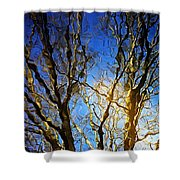 Ripple Tree Shower Curtain