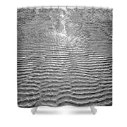 Rippled Light Shower Curtain
