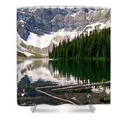 Rippled Mirror Shower Curtain