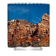 Rippled Walls Shower Curtain