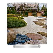 Ripples And Serenity Shower Curtain