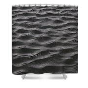Ripples And Waves From Wind Dance Shower Curtain