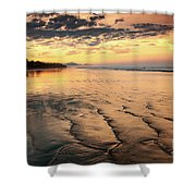 Ripples On The Coast Shower Curtain
