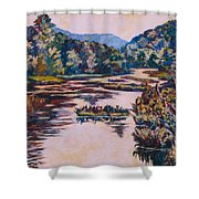Ripples On The Little River Shower Curtain