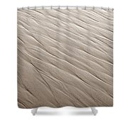 Rippling Shower Curtain by Marilyn Hunt