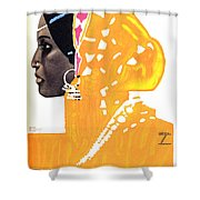 Riquetta - Food And Drink - Vintage Advertising Poster Shower Curtain