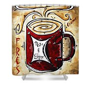Rise And Shine By Madart Shower Curtain